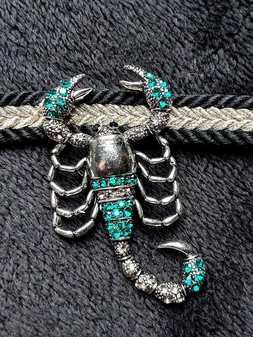 Silver & Jade Green Obidome