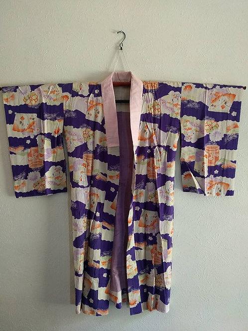 Antique Juban For Japanese Kimono