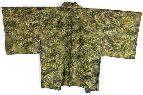vintage green haori