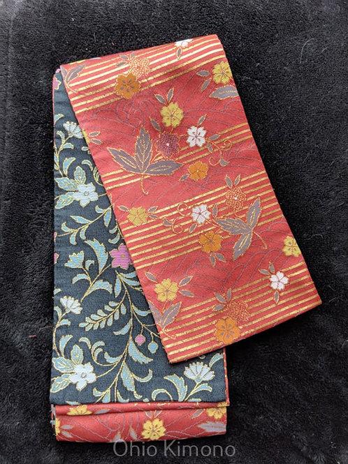 hanhaba obi for yukata kimono japanese