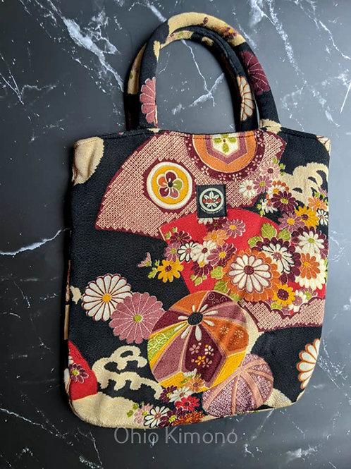 kimono purse fabric