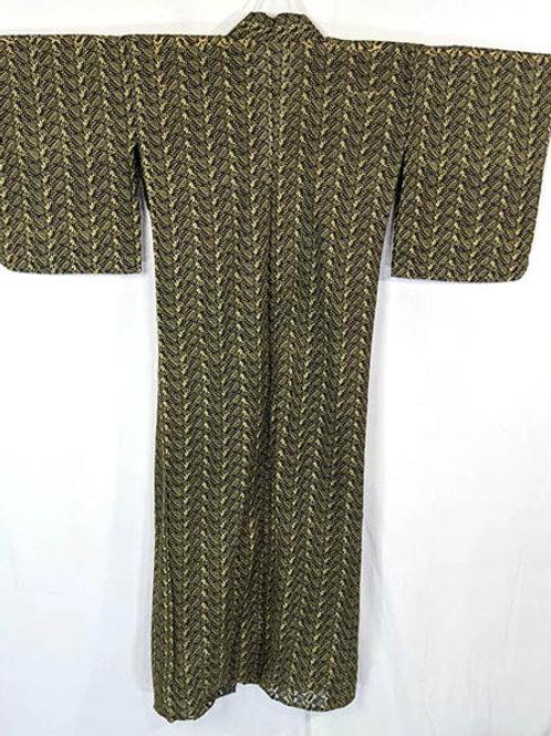 lace japanese kimono