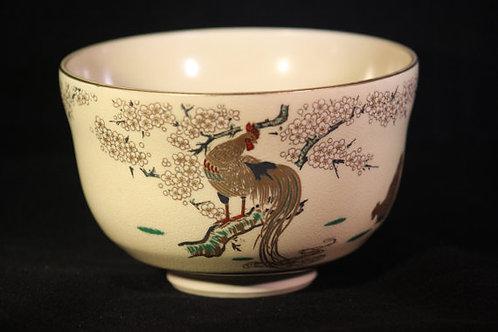 Rooster Tea Bowl
