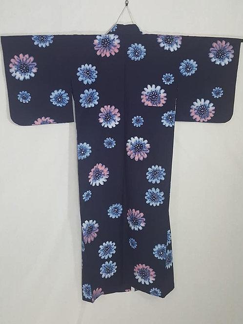 Navy Blue Yukata