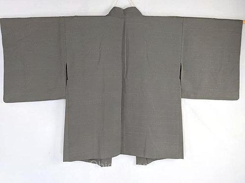 haori vintage silk green