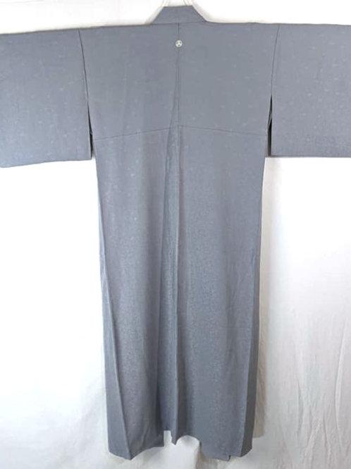 blue-grey iromuji kimono