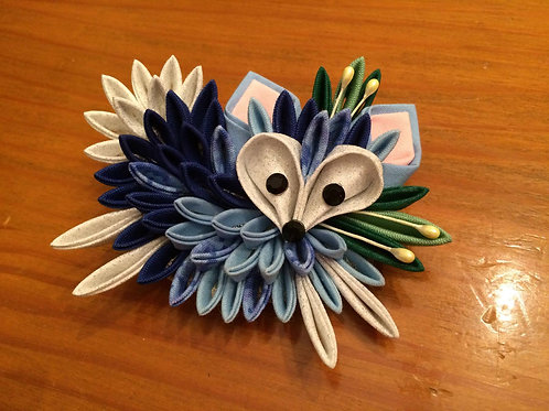 Blue Fox Kanzashi