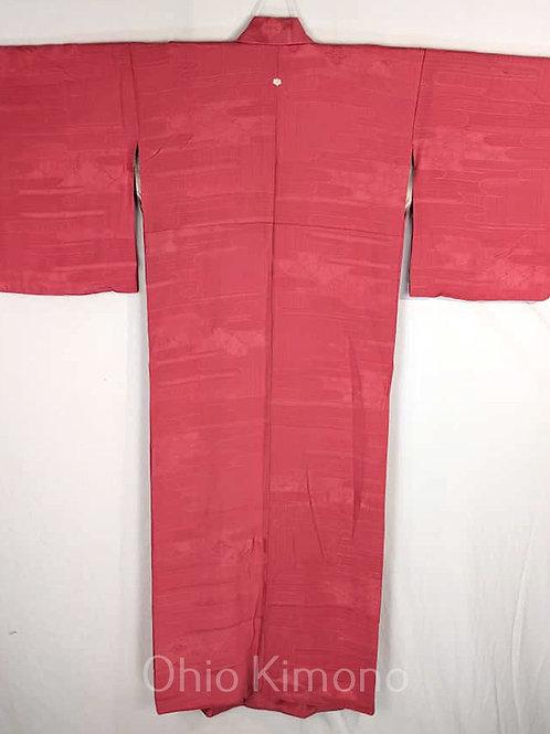 bubblegum pink iromiji kimono