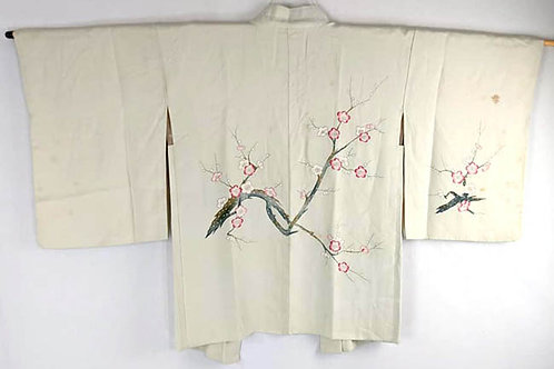 plum blossom haori from japan