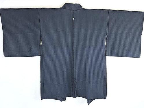 blue vintage haori