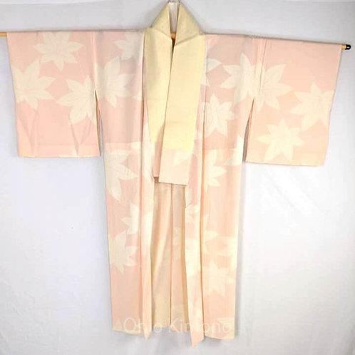 juban pink maple leaves japanese