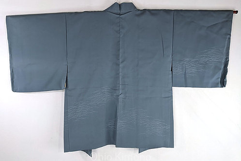 dusty blue haori from japan