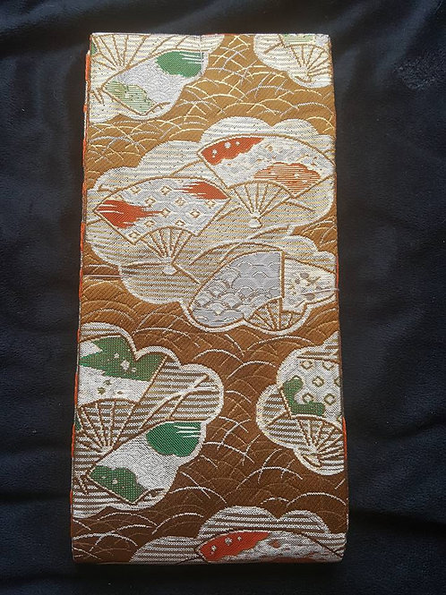 Gold & Orange Hanhaba Obi