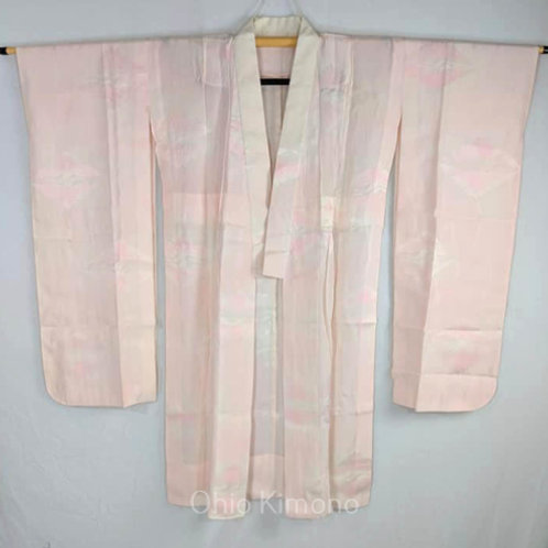 pink white juban furisode
