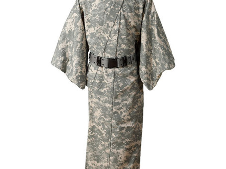Military Kimono Kitsuke