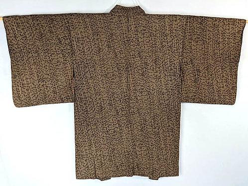 japanese haori brown