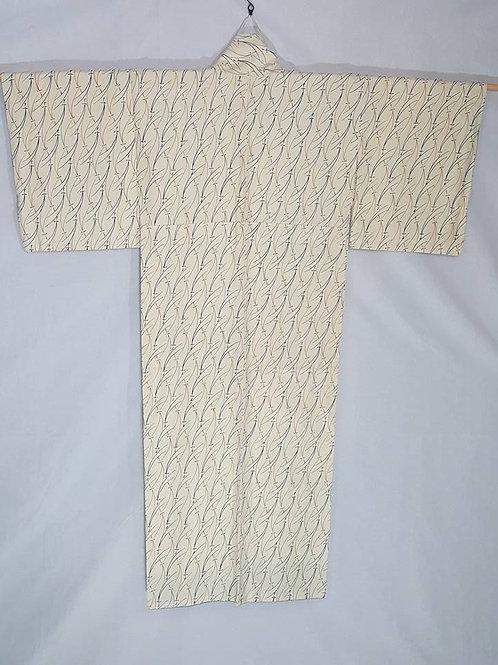 Cream Japanese Kimono
