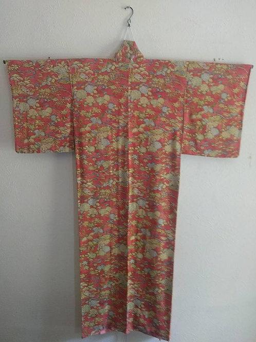 Red Japanese Kimono