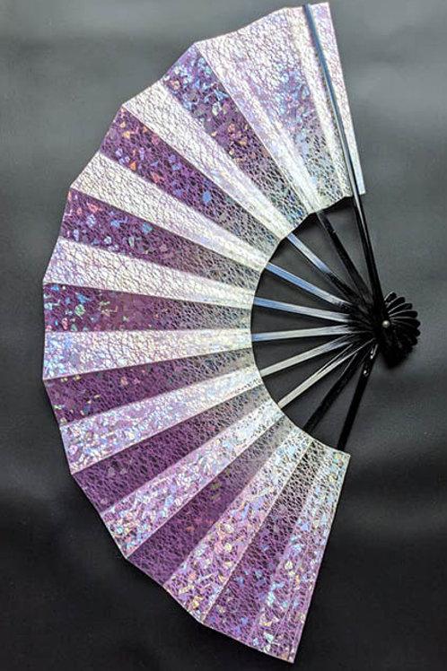 Lavender Purple & Holographic Foil Sensu