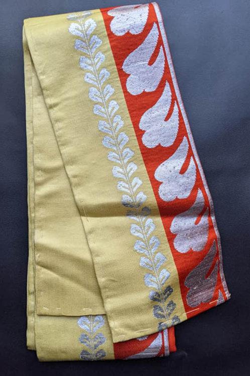 antique hanhaba obi silk