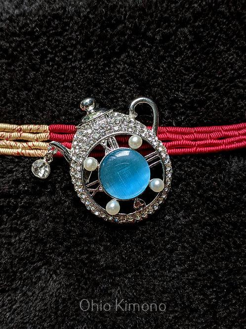 Silver & Blue Obidome
