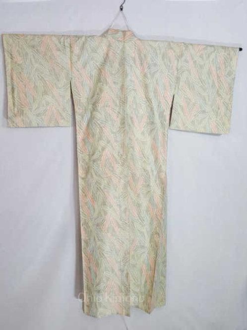 tan traditional kimono