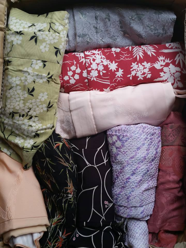 real kimono from japan