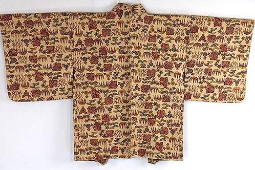 vintage brown haori