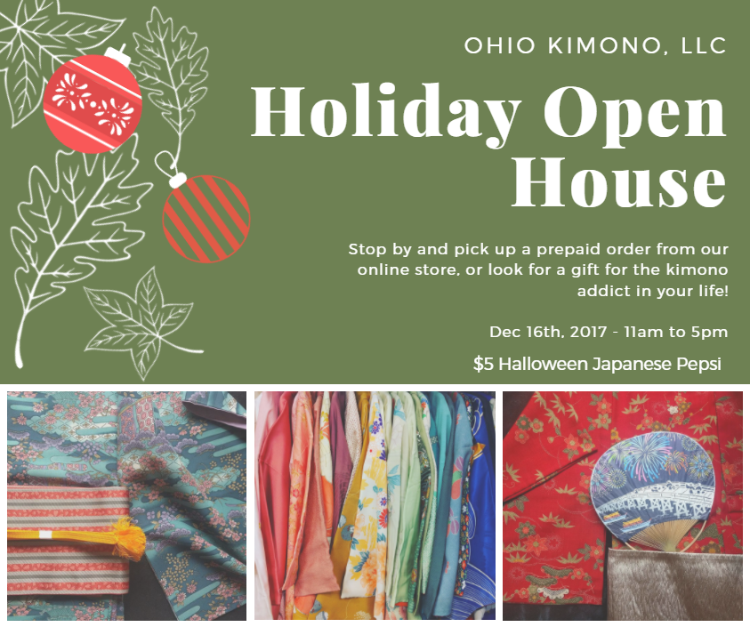 Ohio Kimono Holiday Open House
