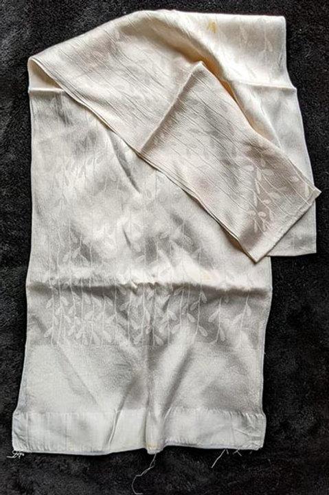 oystery white obiage for kimono