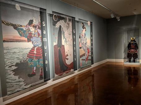 Samurai, Ghosts, and Lovers - Japanese Art Exhibit, Dayton, Ohio