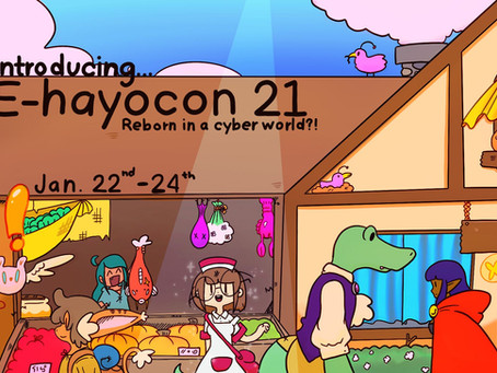 Join us for Ohayocon 2021 - ONLINE! FREE ADMISSION!