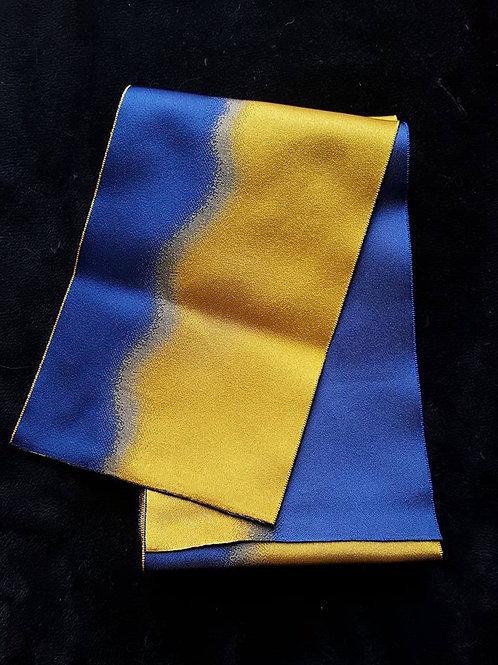 Blue & Yellow Hanhaba Obi