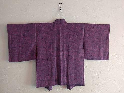 Purple & Black Haori