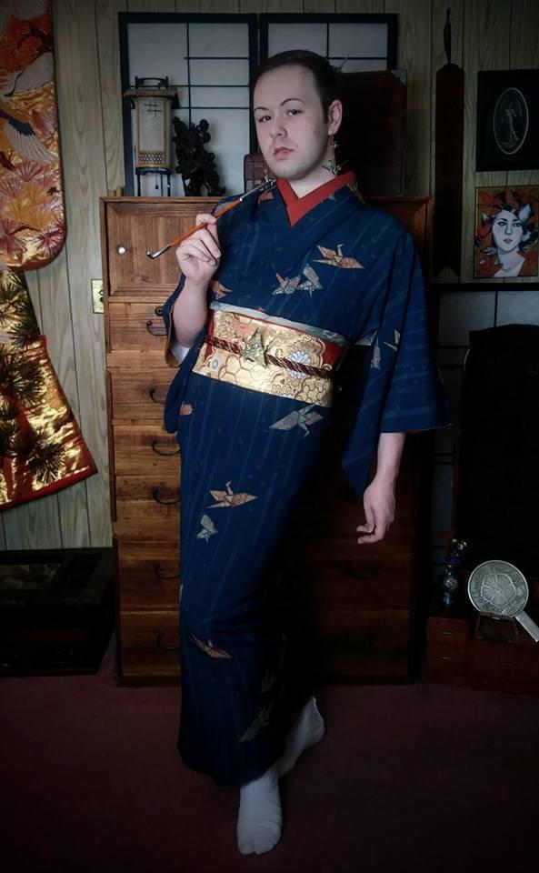 Japanese Kimono Kitsuke