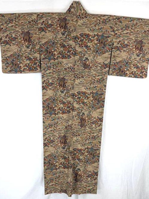 japanese kimono brown