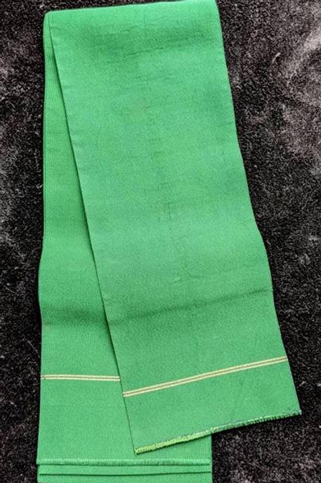 green obi for japanese kimono