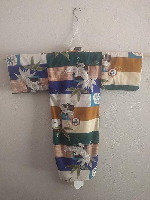New Lined Boys Kimono