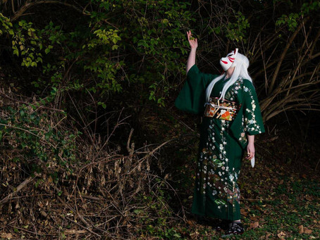 Check Out The Kimono Kitsune Photo Shoot!