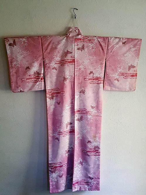 Pink Japanese Kimonos