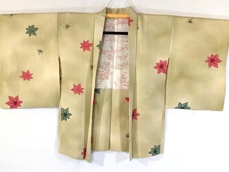 Restock: Vintage Haori & Obi