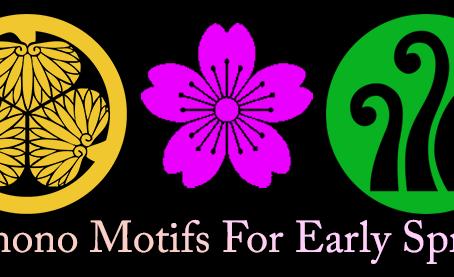 Spring Kimono Motifs - March