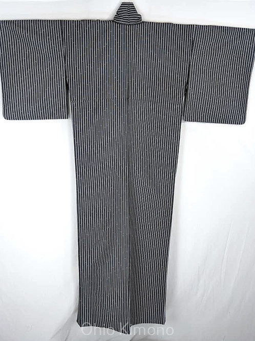 Black & White Japanese Kimono