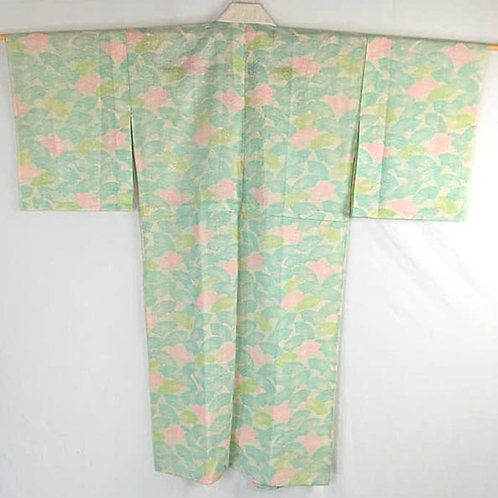 mint green and pink vintage juban