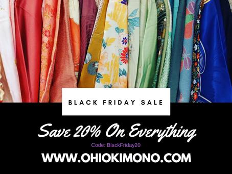 Ohio Kimono Black Friday SALE!