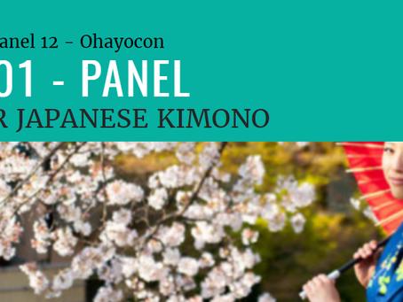 Kimono 101 - Ohayocon 2018 Panel