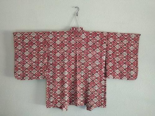 Vintage Haori Coat For Japanese Kimono