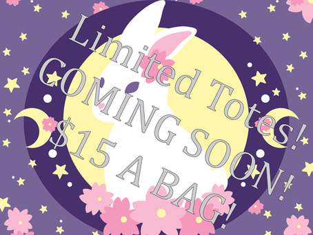 Coming soon - Custom limited tabi, bags and more!