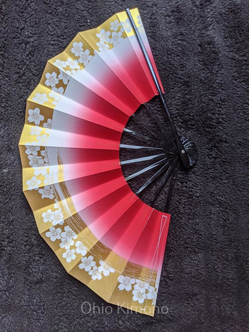sakura sensu folding fan