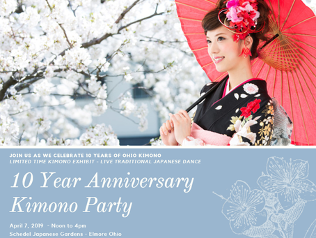 Your Invited: 10 Years Of Kimono Party